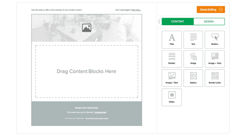 MailChimp Alternative-MailerLite