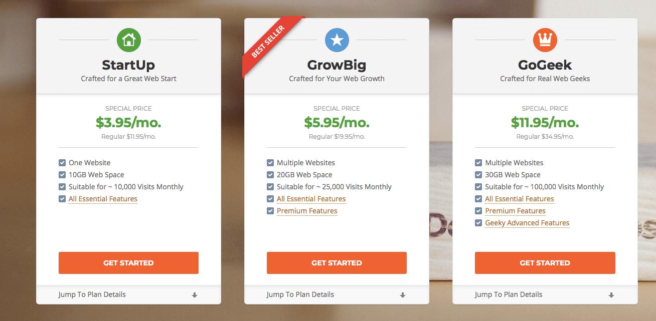 Kinsta vs Siteground