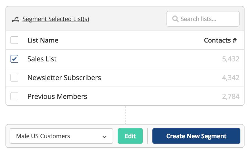 active campaign segmentation