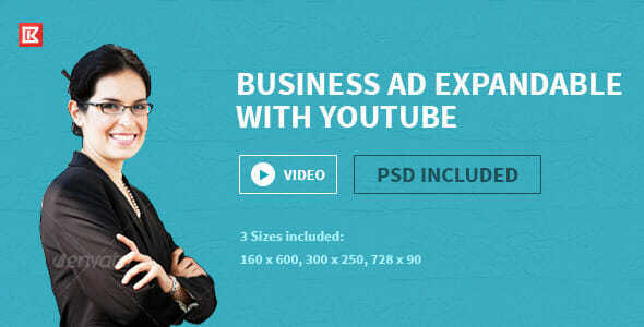 Business HTML5 Google Ad Template Two