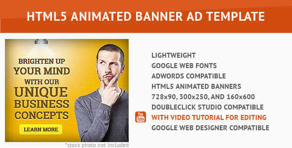 Corporate Ad - HTML5 Animated Banner