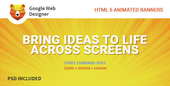 HTML 5 Animated Banner