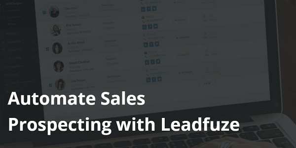 Automate Your B2B Sales Lead Generation with LeadFuze