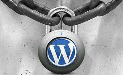 security of WordPress website