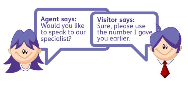 intercom alternatives -Webchat Example