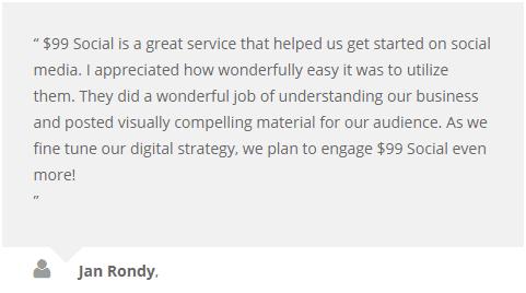 99DollarSocial Customer Review