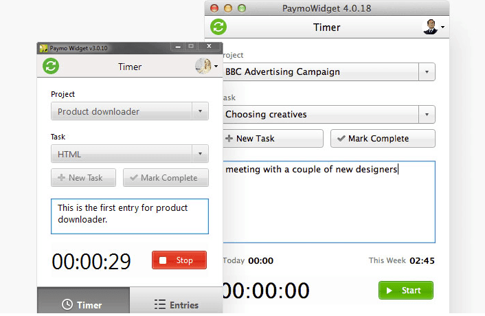 Paymo: Desktop Time Tracker - Project Management Software
