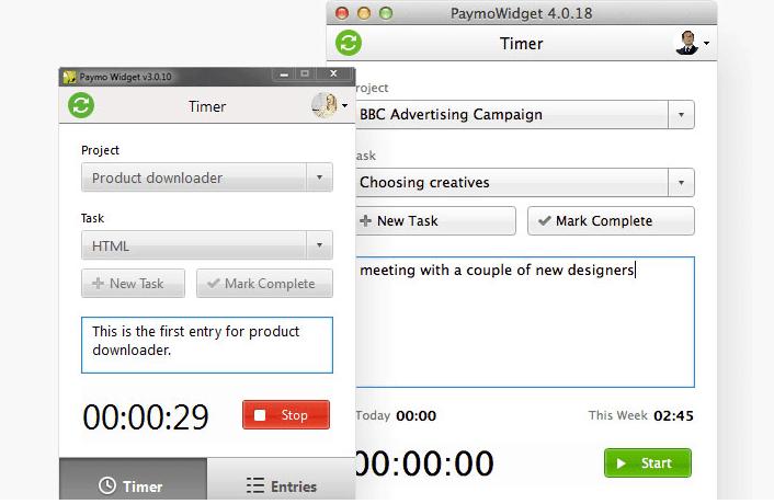 Paymo: Desktop Time Tracker - Project Management Software