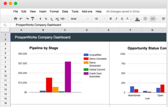 custom-report-building Google Apps CRM