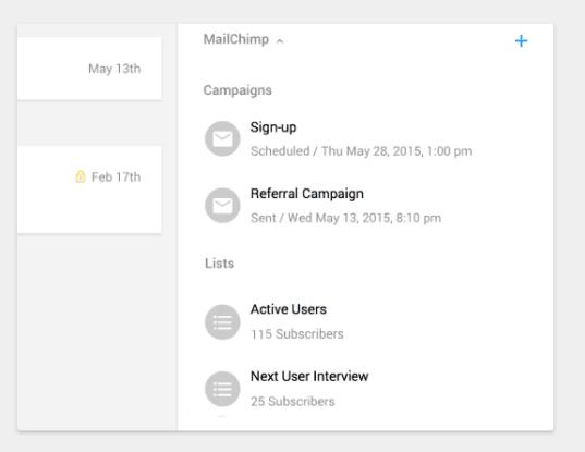 prosperworks-mailchimp-integration