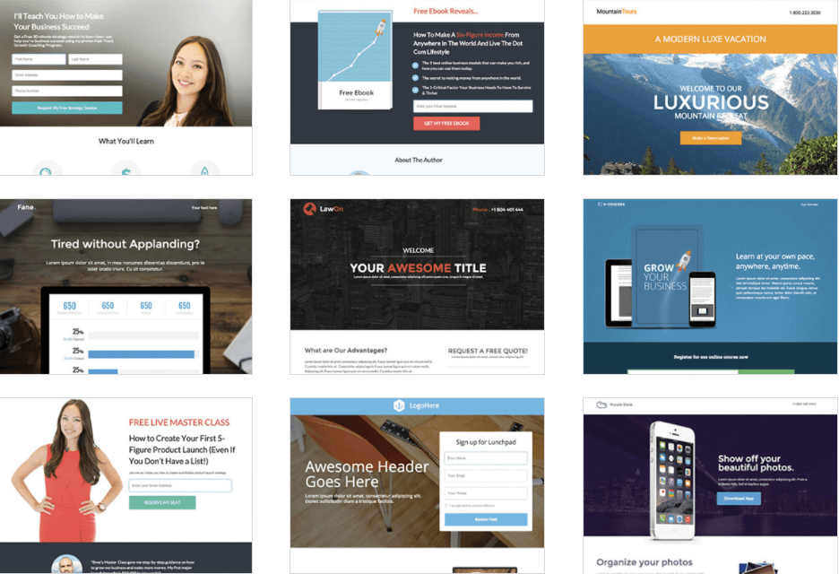wishpond-landing-page-templates - Wishpond Review