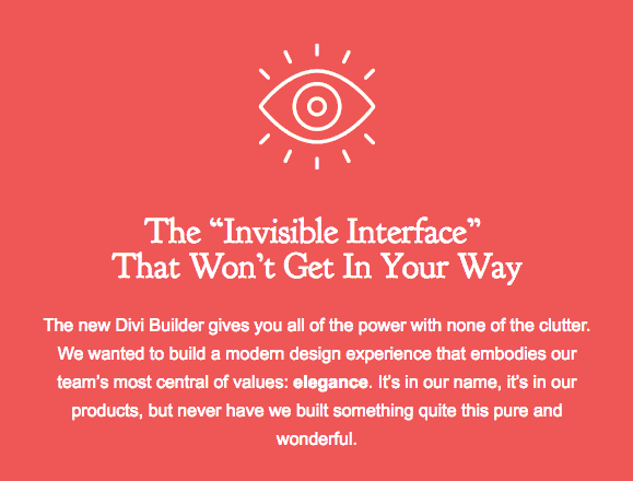Invisible-interface-divi-3.0-review