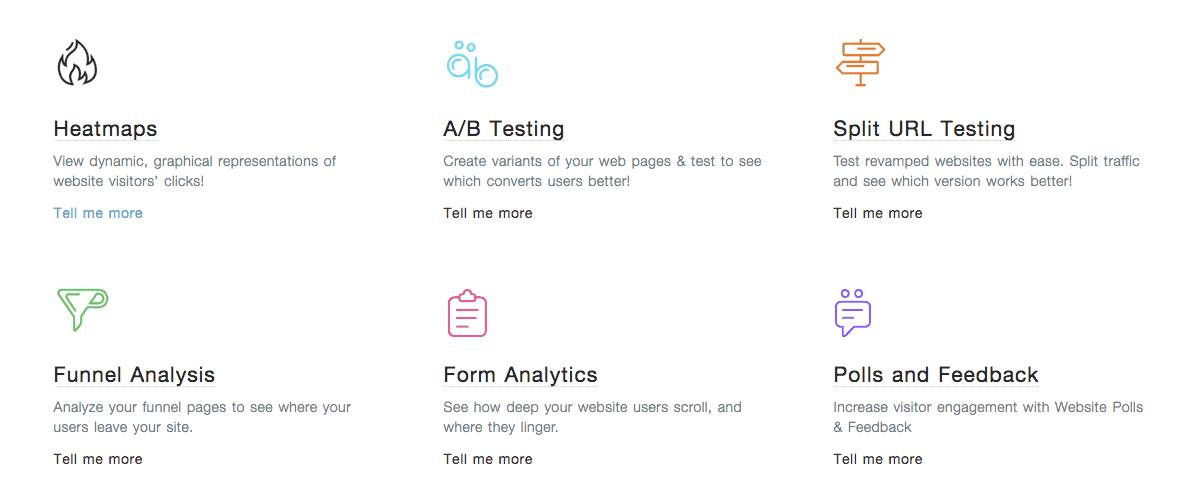 Freshmarketer-features Website conversion optimization application
