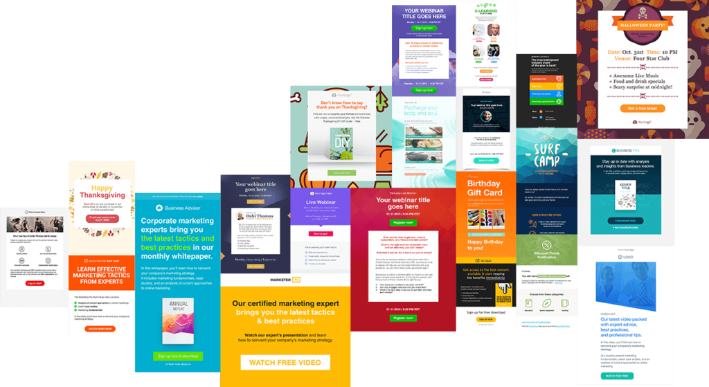 email-marketing - GetResponse Review of Templates