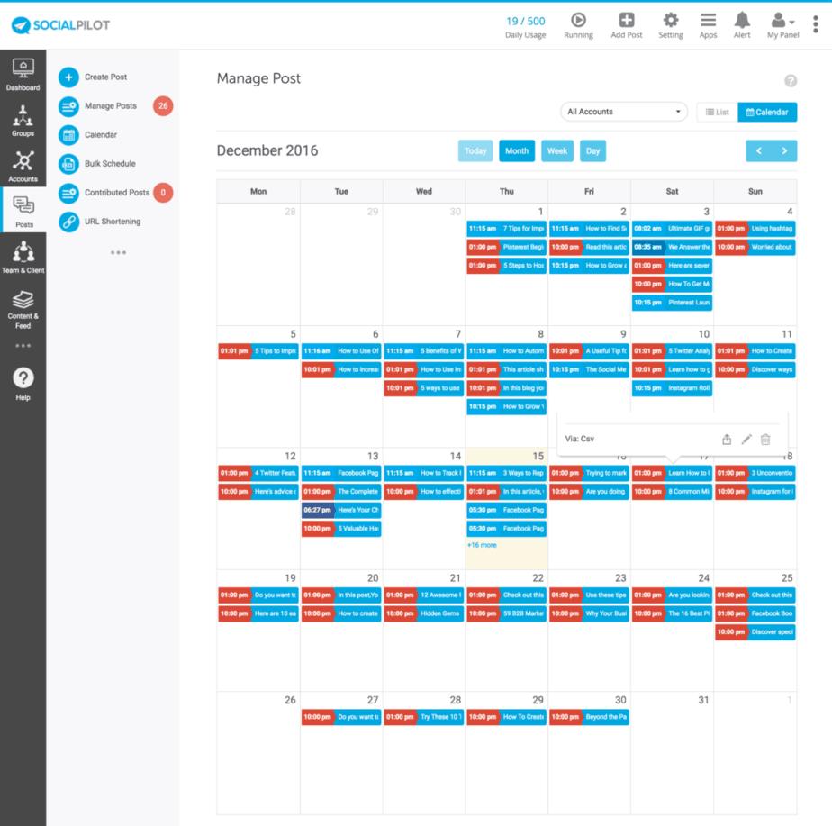 social-pilot-calendar - buffer alternative