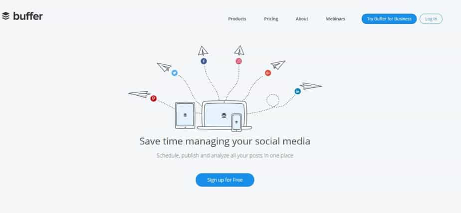 Social Media Graphics Tool with Buffer Integration