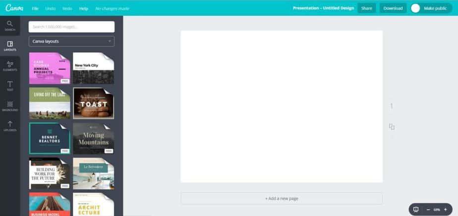 Free Social Media Graphics Tool - Canva