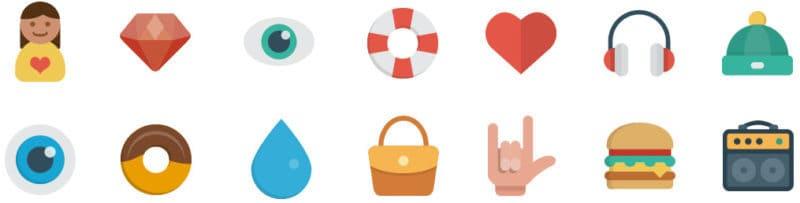 Social Media Graphic Icons