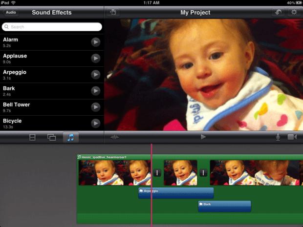 iMovie audio - iMovie Alternative