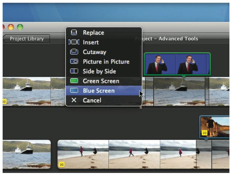 iMovie green-blue-screens - iMovie Alternatives