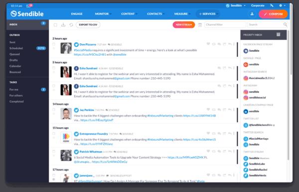 social media marketing platform for agency to manage multiple social profiles