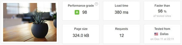 kinsta WordPress hosting - daily backups- disk space- kinsta dashboard
