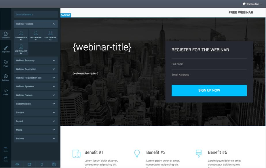 Jetwebinar Templates-customization