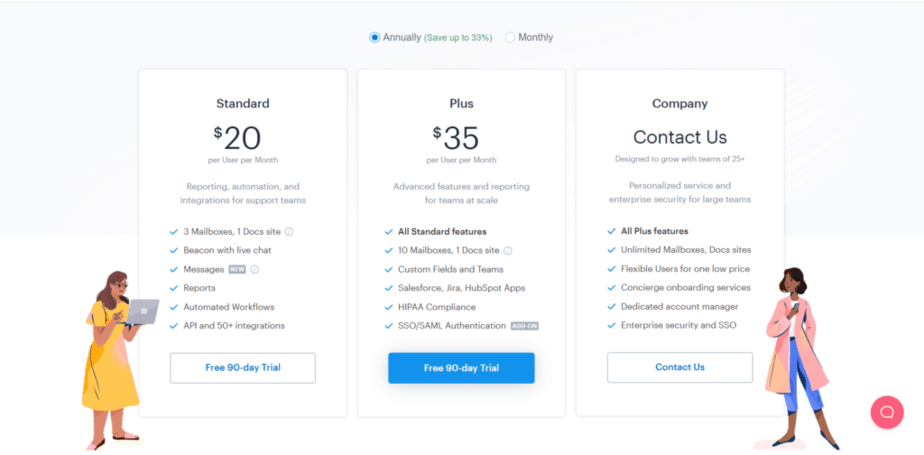 helpscout pricing