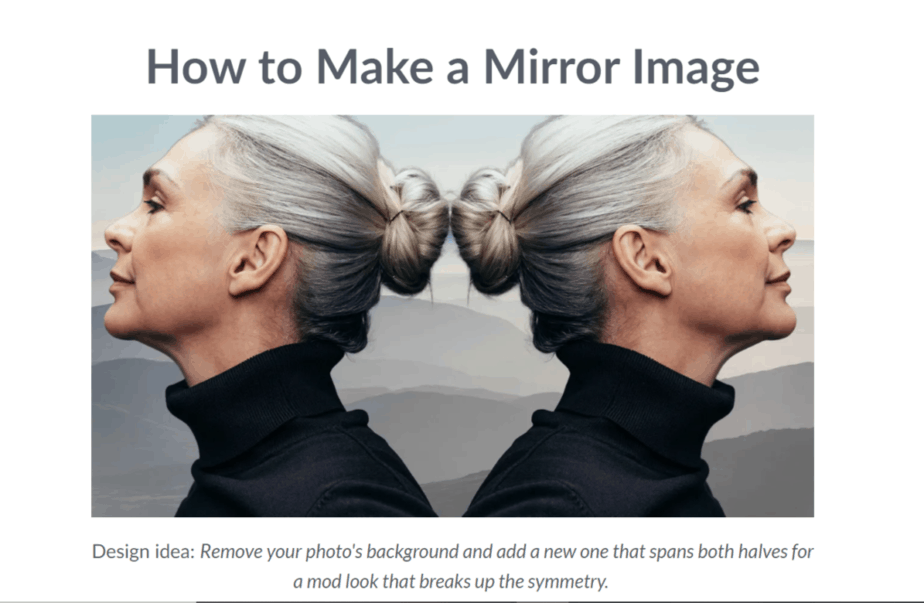 mirror effect picmonkey - easy photoshop alternative that also has a free version and comes with a photo editor - best free photoshop alternative