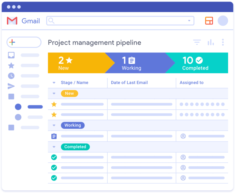 efficient tool for freelancers - streak by google - easy getting started - businesses tool - gmail sites