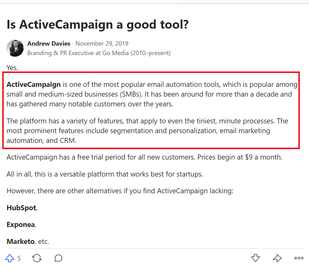 8 HubSpot Alternatives You Should Switch To, Now 5