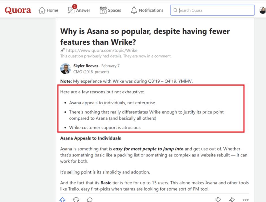 Wrike vs Asana - The Best of Team Management Application 4