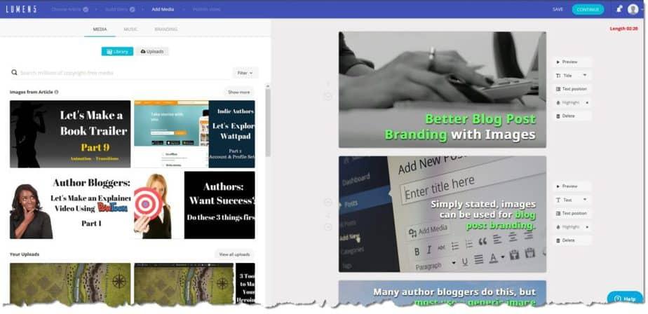 video editors for chromebook - lumen5