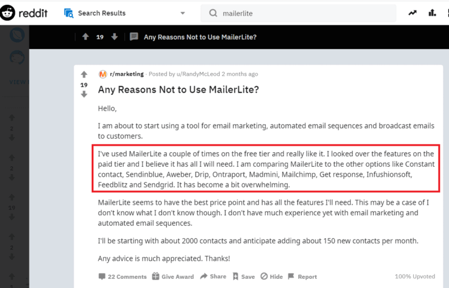 Unlimited Emails for 10,000 Subscribers at $20 – MailerLite Review 1