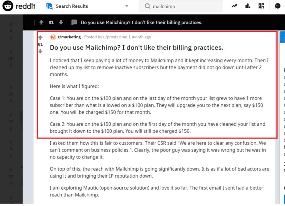 22 More MailChimp Alternatives for Performance Email Marketing 4