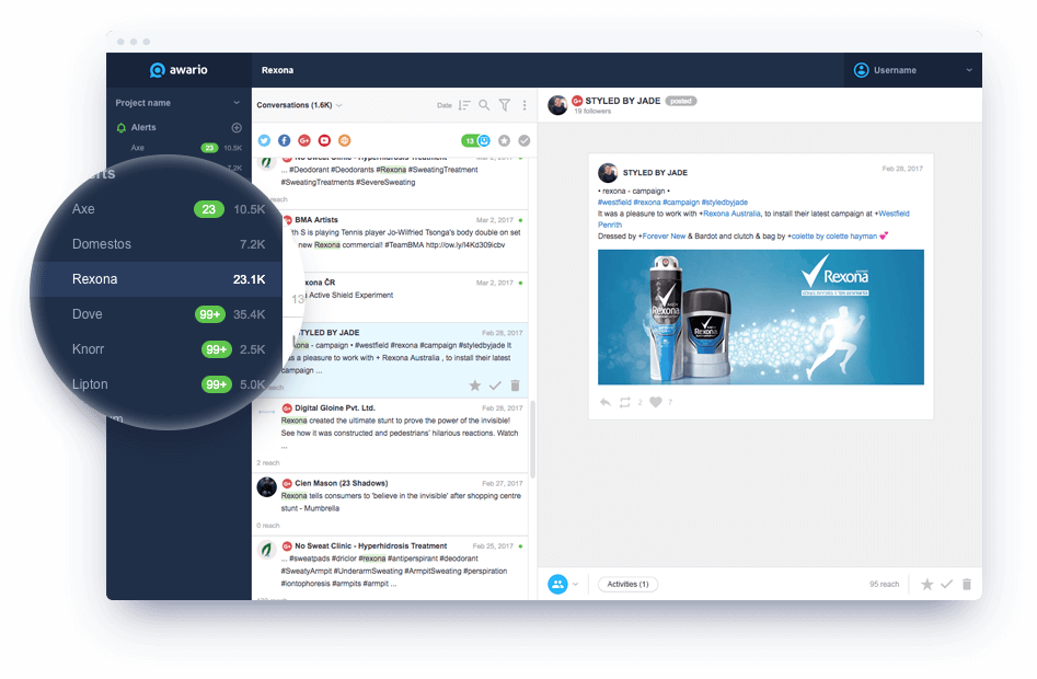 tools for freelancers - awario - no limited access - tool for unconventional job