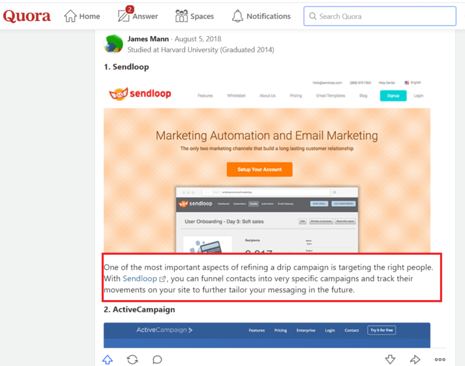 email automation - easy to use