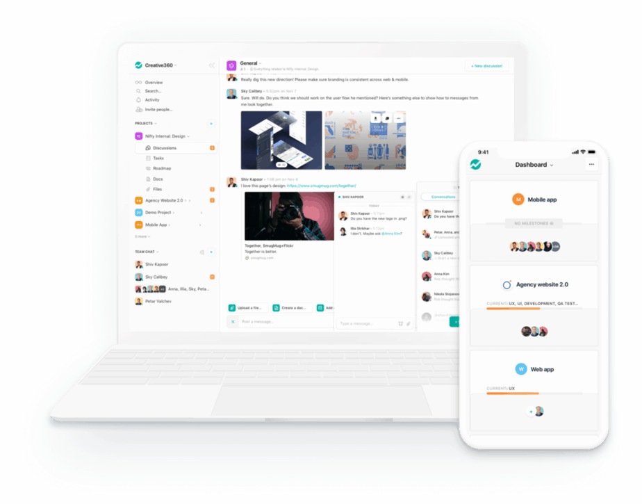 freelance management system - nifty pm