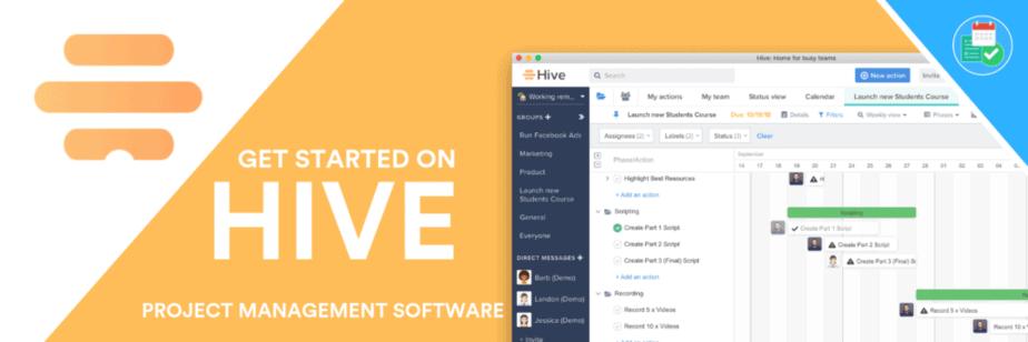 freelance management system - hive