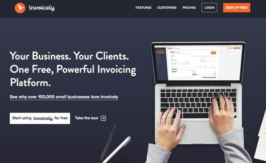 freelance management system - invoicely