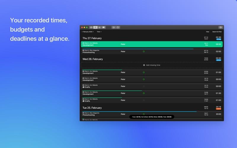 time tracking for freelancer - tyme