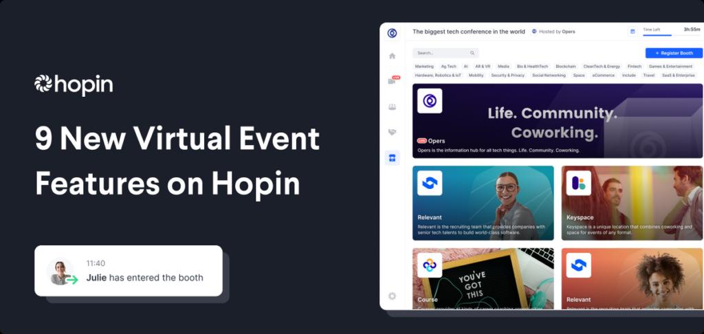 meetup alternative - hopin.to