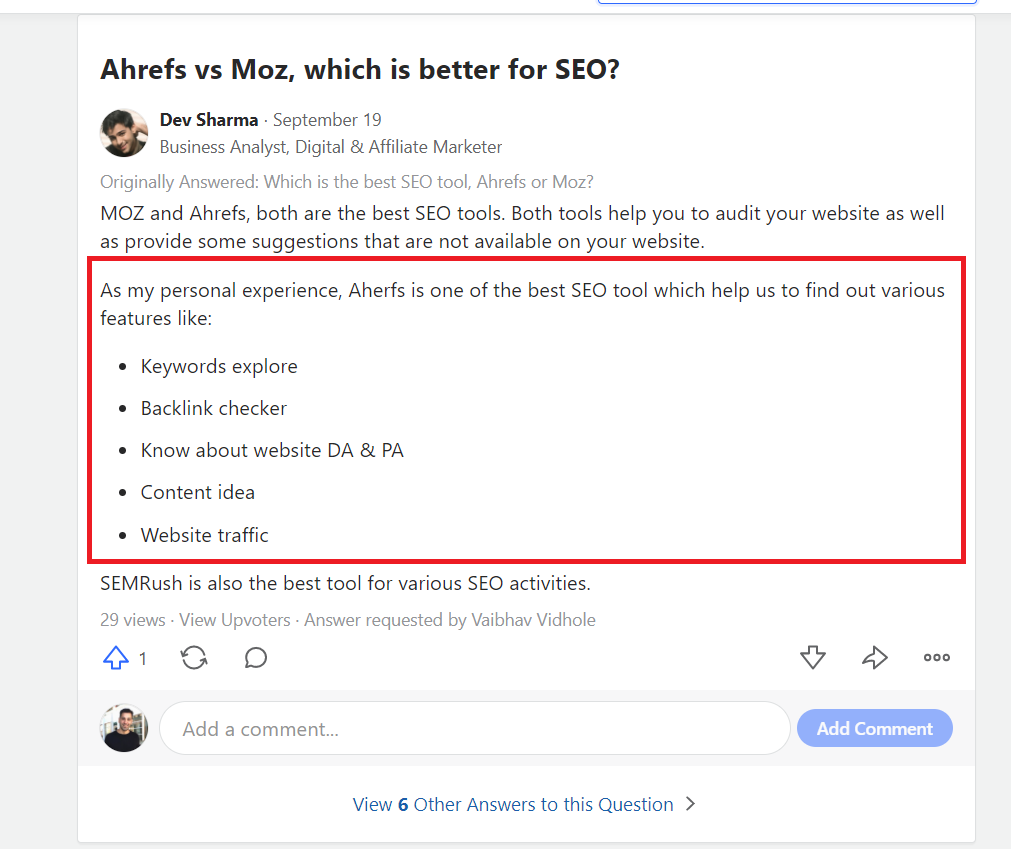 4 Best in Breed Moz Alternatives you Should Use Now 4