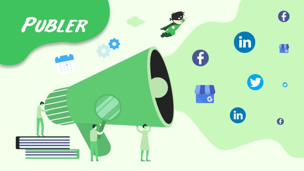 social media collaboration - Publer
