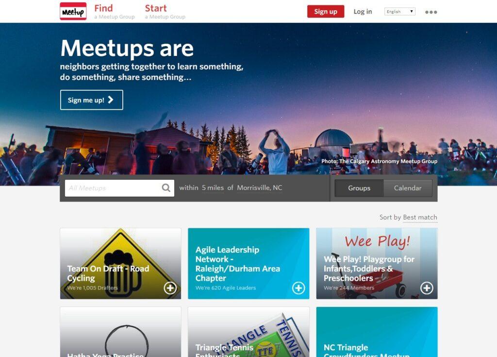 meetup alternative