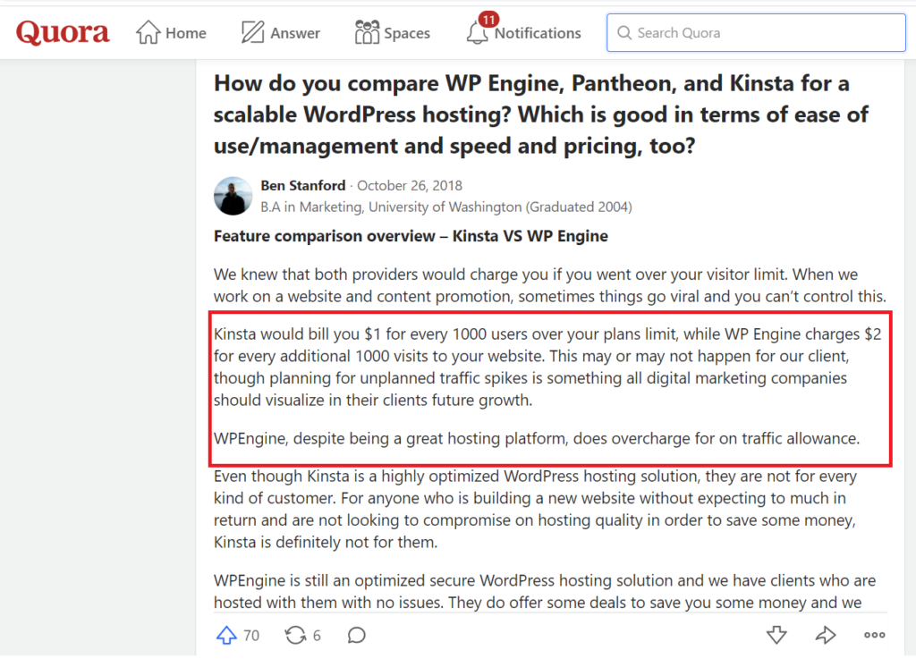 review kinsta wordpress hosting- kinsta dashboard- looking for the best managed hosting providers - good site speed -coming of age technology