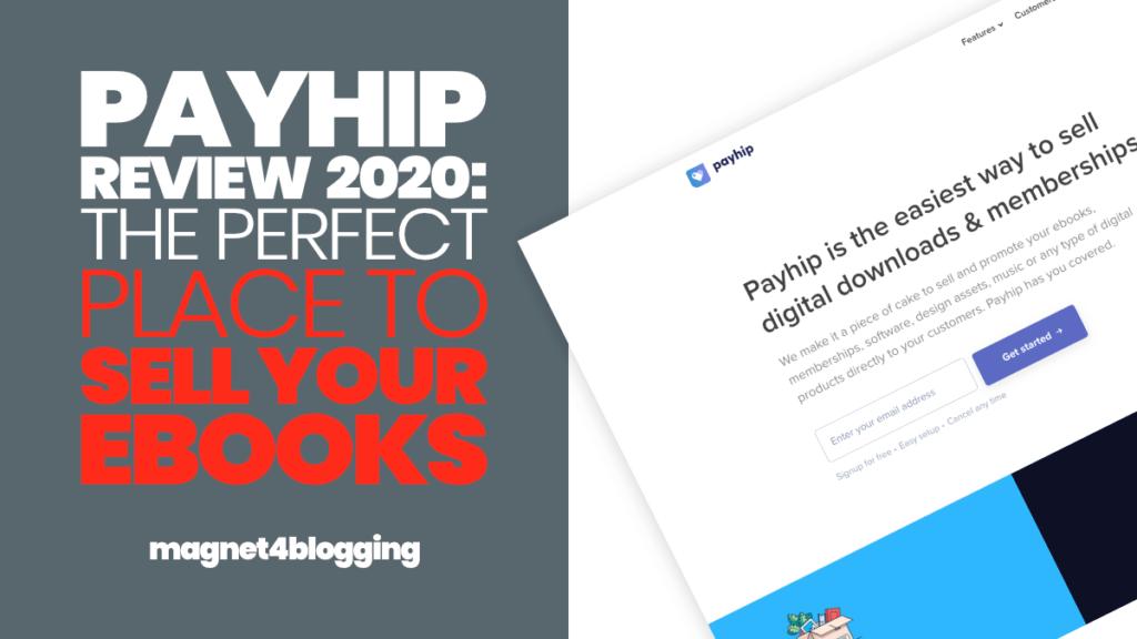Shopify alternative - payhip