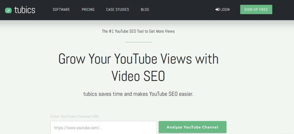 youtube marketing - tubics