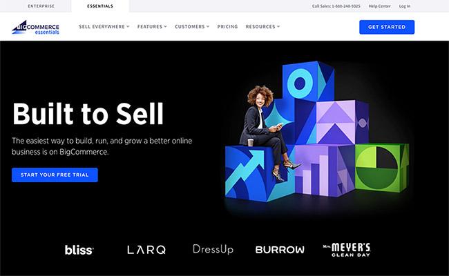 Shopify alternative - big commerce