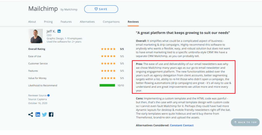 GetResponse vs MailChimp - 150% More Effective App for Marketer 1